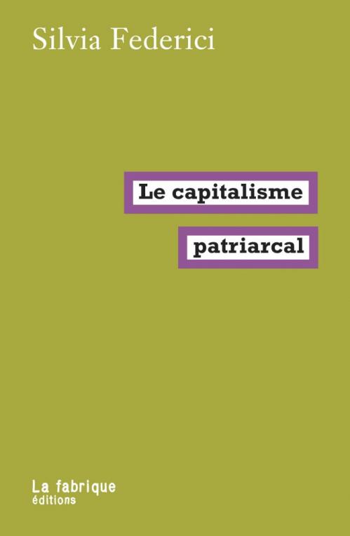 Couverture Le capitalisme patriarcal