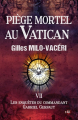 Couverture Piège mortel au Vatican Editions du 38 (38 rue du polar) 2019