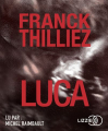 Couverture Franck Sharko & Lucie Hennebelle, tome 7 : Luca Editions Lizzie 2019