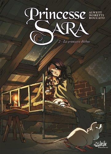Couverture Princesse Sara, tome 02 : La princesse déchue