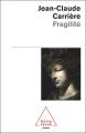 Couverture Fragilité Editions Odile Jacob 2007