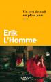 Couverture Un peu de nuit en plein jour Editions Calmann-Lévy 2019