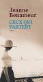 Couverture Ceux qui partent Editions Actes Sud (Domaine français) 2019