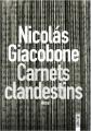 Couverture Carnets Clandestins Editions Sonatine 2019