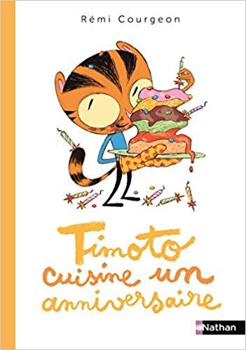 Couverture Timoto cuisine un anniversaire