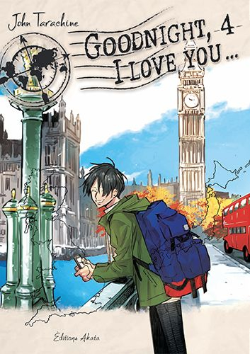 Couverture Goodnight, I love you..., tome 4