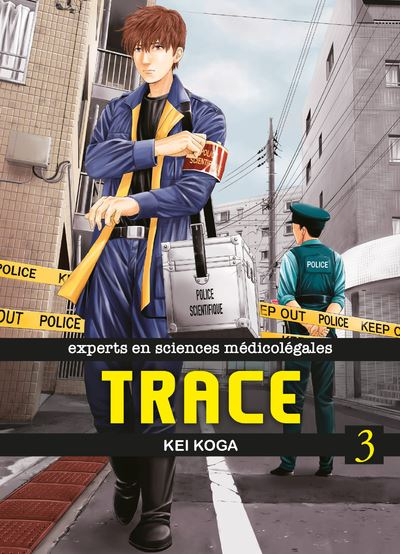 Couverture Trace, tome 3