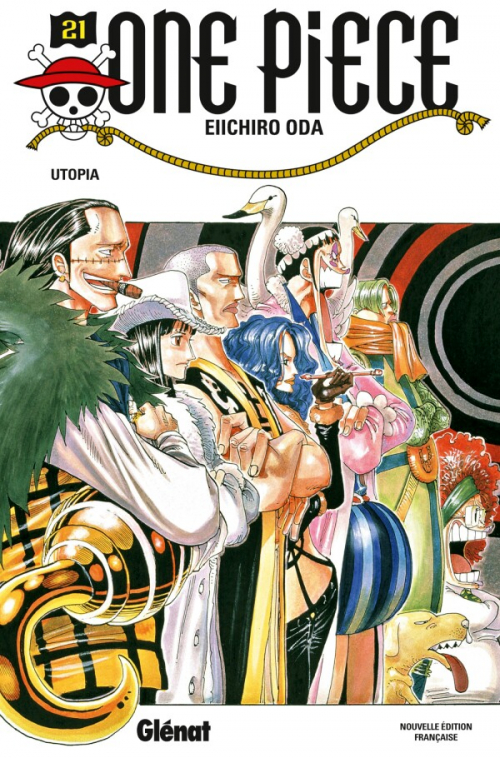 Couverture One Piece, tome 21 : Utopie