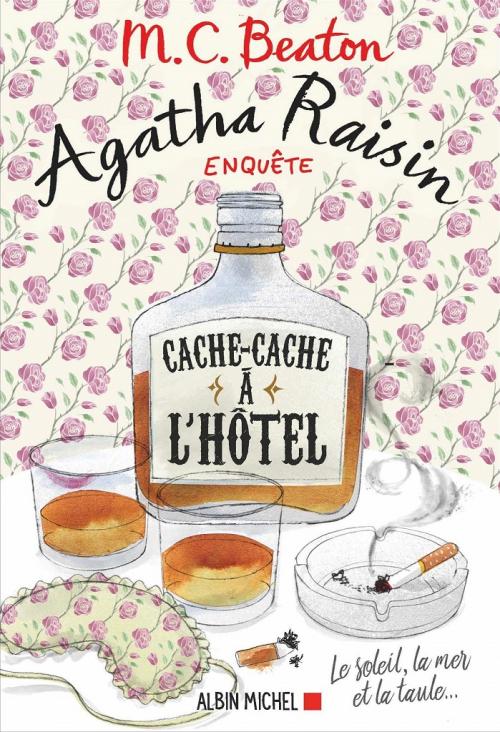 Couverture Agatha Raisin enquête, tome 17 : Cache-cache à  l'hôtel
