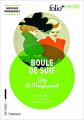 Couverture Boule de suif Editions Folio  (+ Collège) 2016