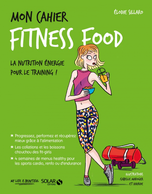 Couverture Mon cahier : Fitness Food