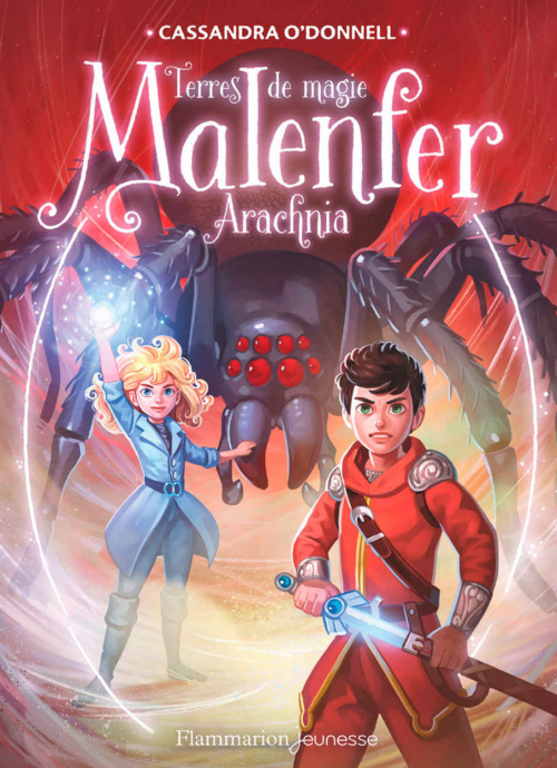 Couverture Malenfer, cycle 2 : Terre de magie, tome 3 : Arachnia