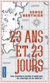 Couverture 23 ans et 23 jours Editions Pocket 2019