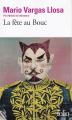 Couverture La Fête au bouc Editions Folio  2019