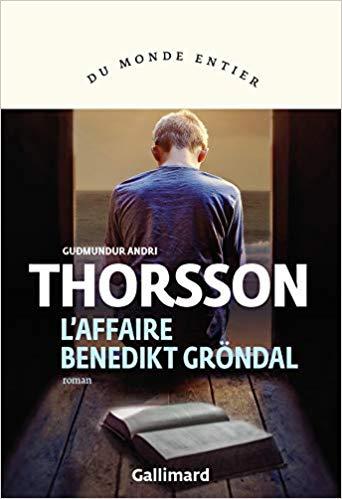 Couverture L'affaire Benedikt Gröndal
