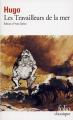 Couverture Les Travailleurs de la mer Editions Folio  (Classique) 1980