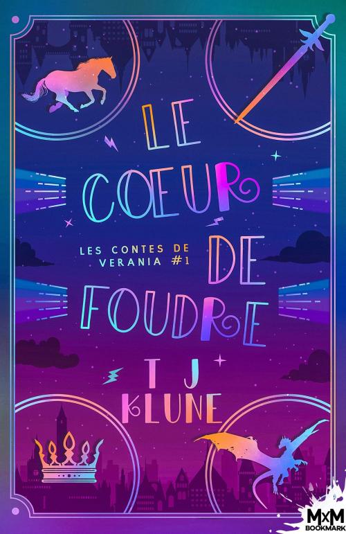 Couverture Les contes de Verania, tome 1 : Le coeur de foudre