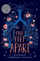 Couverture A cinq pieds de toi / Five feet apart Editions Albin Michel 2019