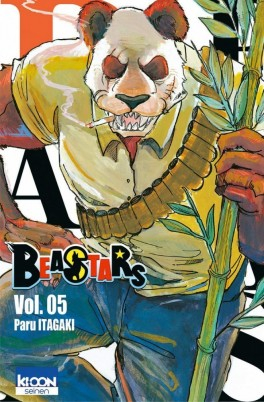 Couverture Beastars, tome 5