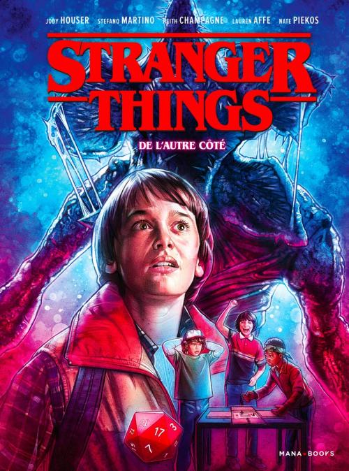 Couverture Stranger Things (Comics), tome 1 : De l'autre côté