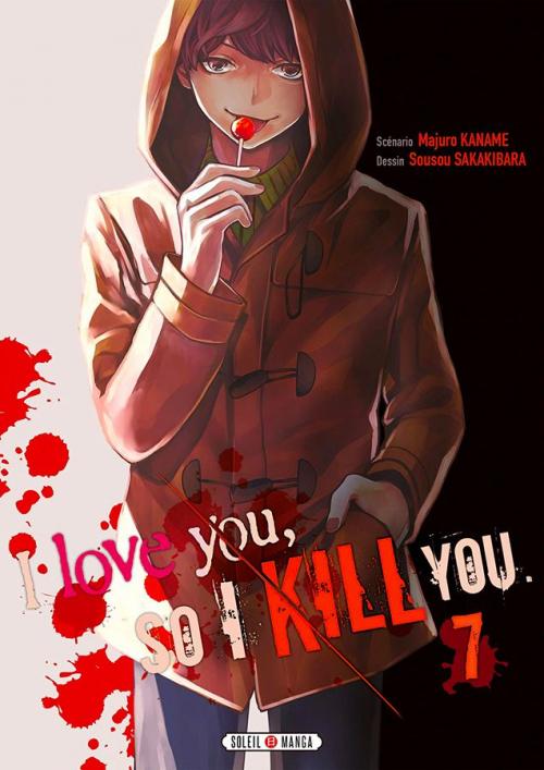 Couverture I love you, so I kill you, tome 7