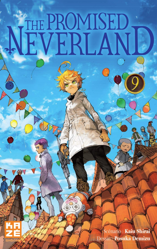 Couverture The promised neverland, tome 09