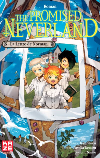 Couverture The Promised Neverland (roman) : La Lettre de Norman