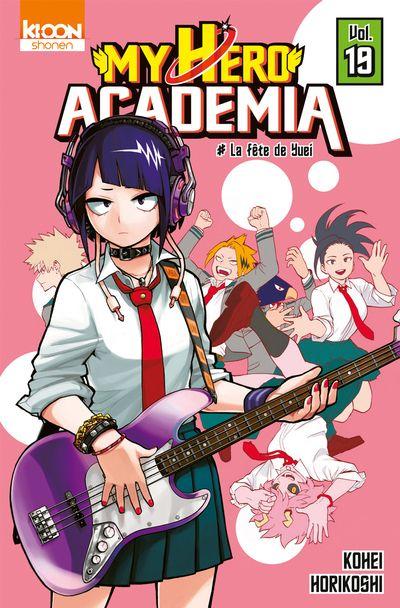 Couverture My Hero Academia, tome 19 : La fête de Yuei