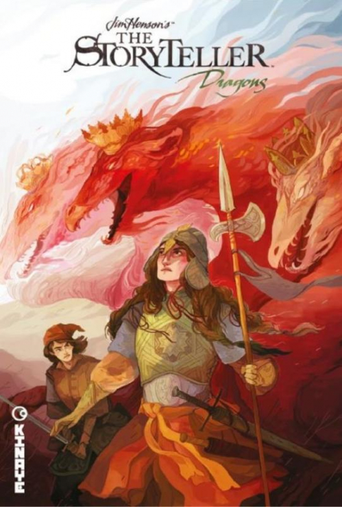 Couverture The storyteller : Dragons