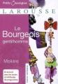Couverture Le bourgeois gentilhomme Editions Larousse (Petits classiques) 2007