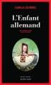 Couverture L'Enfant allemand Editions Actes Sud (Actes noirs) 2011