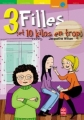 Couverture 3 filles et 10 kilos en trop / 10 kilos en trop Editions Le Livre de Poche (Jeunesse - Humour) 2002