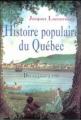 Couverture Histoire populaire du Québec, tome 1 : Des origines à 1791 Editions Québec Loisirs 1995
