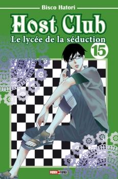 Couverture Host club : Le lycée de la séduction, tome 15