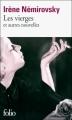 Couverture Les vierges et autres nouvelles Editions Folio  2010