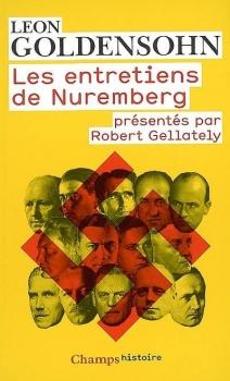 Couverture Les entretiens de Nuremberg