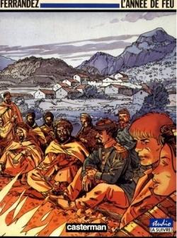 Couverture Carnets d'Orient, tome 02 : L'année de feu