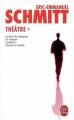 Couverture Théâtre, tome 1 : La nuit de Valognes, Le visiteur, Le bâillon, L'école du diable Editions Le Livre de Poche 2009