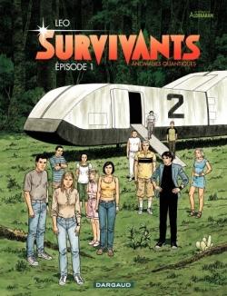 Couverture Les mondes d'Aldébaran, saison 4 : Survivants : Anomalies quantiques : tome 1