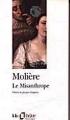 Couverture Le misanthrope / Le misanthrope ou l'atrabilaire amoureux Editions Folio  (Théâtre) 1996