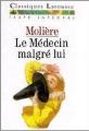 Couverture Le médecin malgré lui Editions Larousse (Classiques) 1990