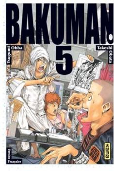 Couverture Bakuman, tome 05