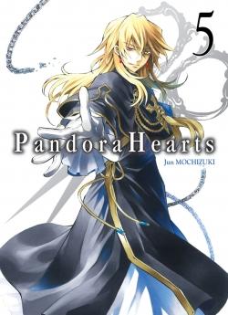 Couverture Pandora Hearts, tome 05