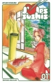 Couverture J'aime les sushis, tome 1 Editions Delcourt (Sakura) 2010