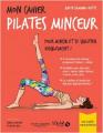 Couverture Mon cahier : Pilates minceur Editions Solar 2019