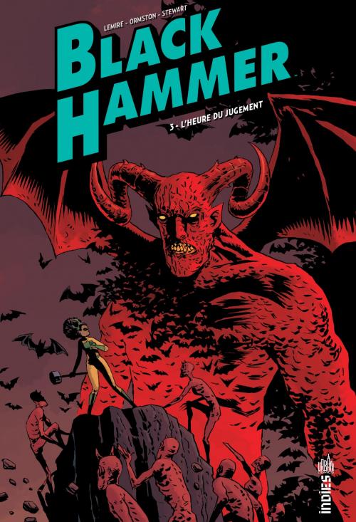 Couverture Black Hammer, tome 3 : L'heure du jugement