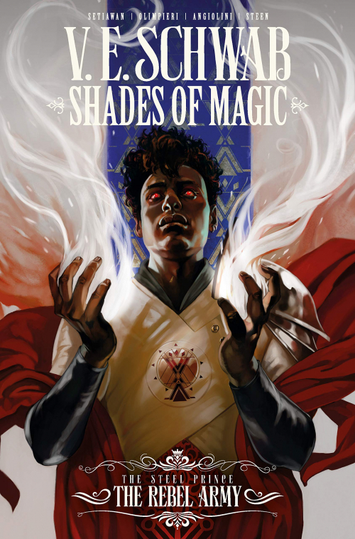 Couverture Shades of Magic: The Steel Prince, omnibus, book 3: The Rebel Army