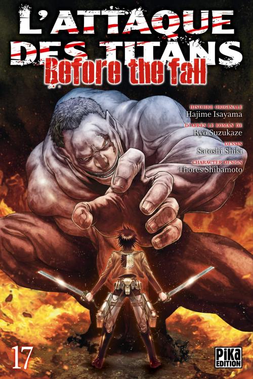 Couverture L'attaque des titans : Before the fall, tome 17