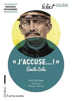 Couverture J'accuse ! et autres textes sur l'affaire Dreyfus / J'accuse ! : Emile Zola et l'affaire Dreyfus