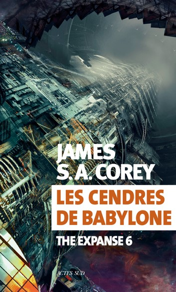 Couverture The expanse, tome 6